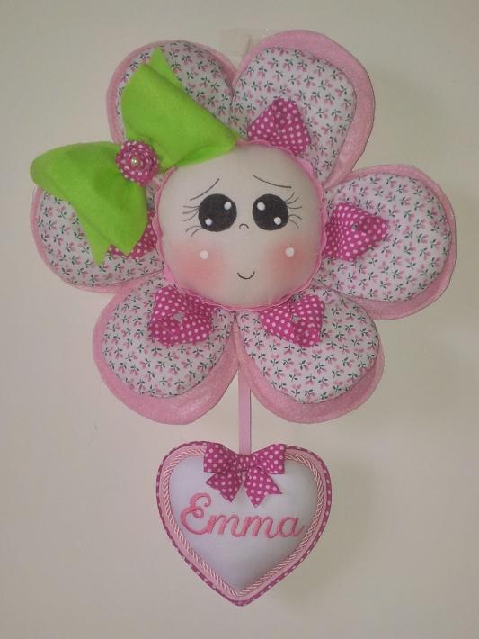 Fiocco nascita fiore Emma 1